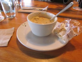 Clam Chowder? Where's the Clams.
