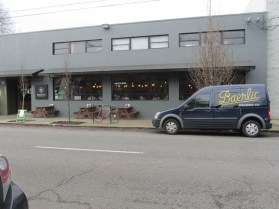 Baerlic Brewing street view.