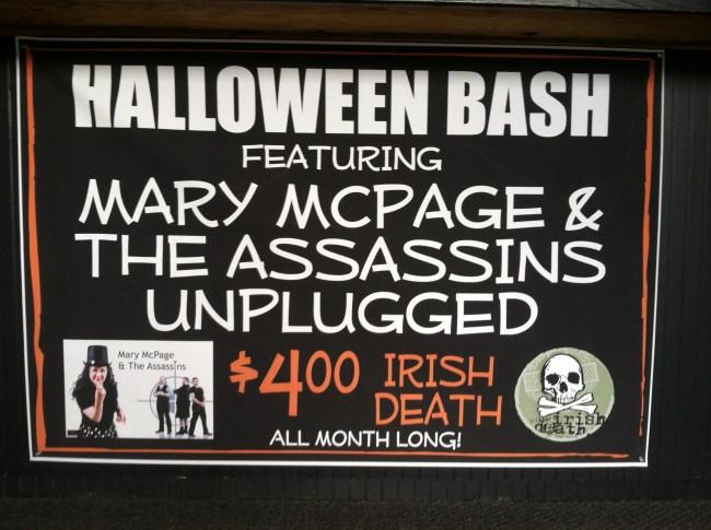 Irish Death Halloween