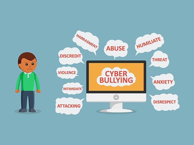 Cyber bullying as a menace in the society