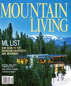 Mountain Living 2017 Top Architect Award