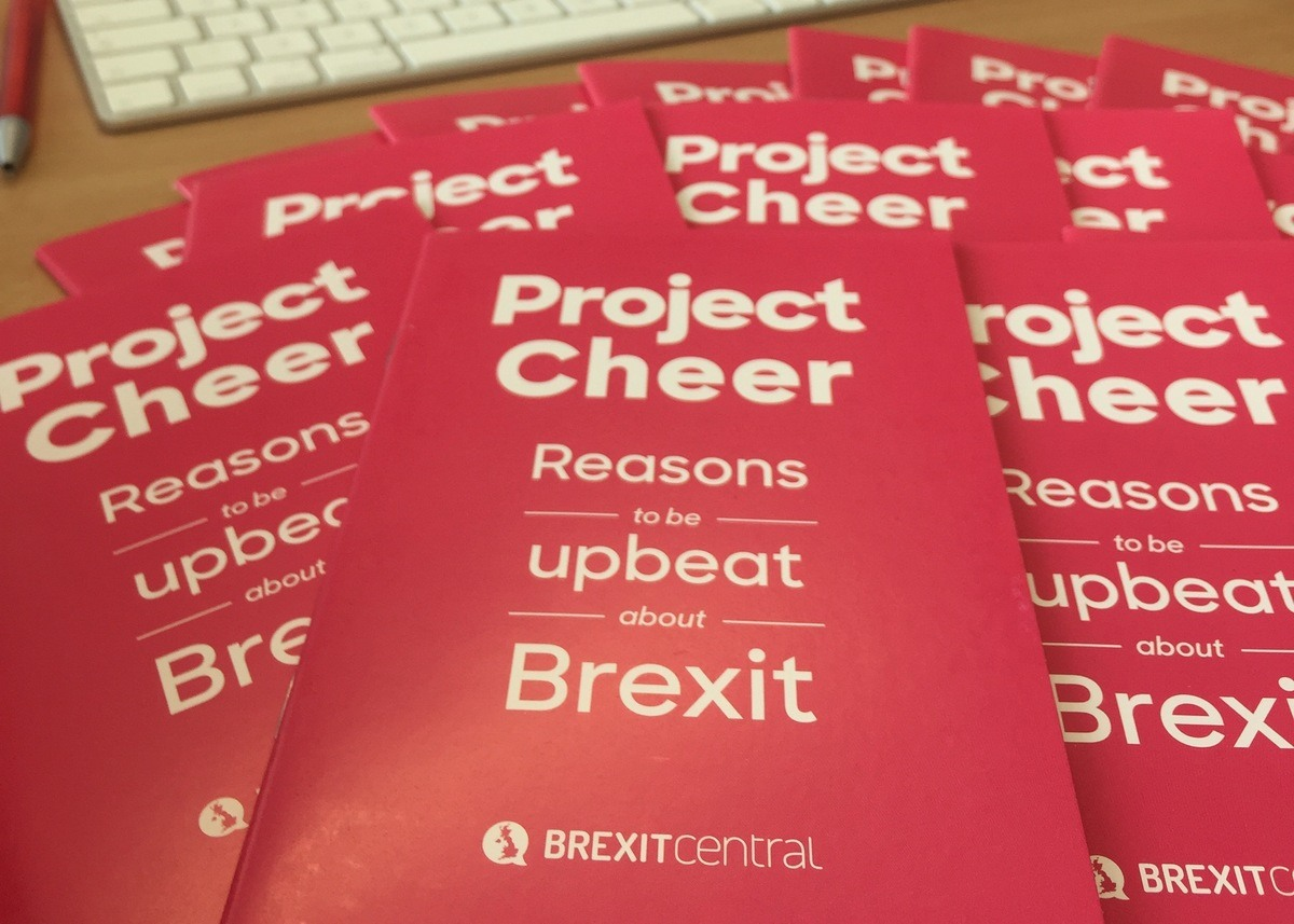 Project Cheer booklet: Reasons to be upbeat about Brexit