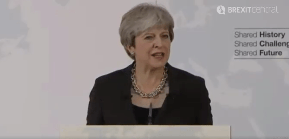 Full text of Theresa May's Florence speech
