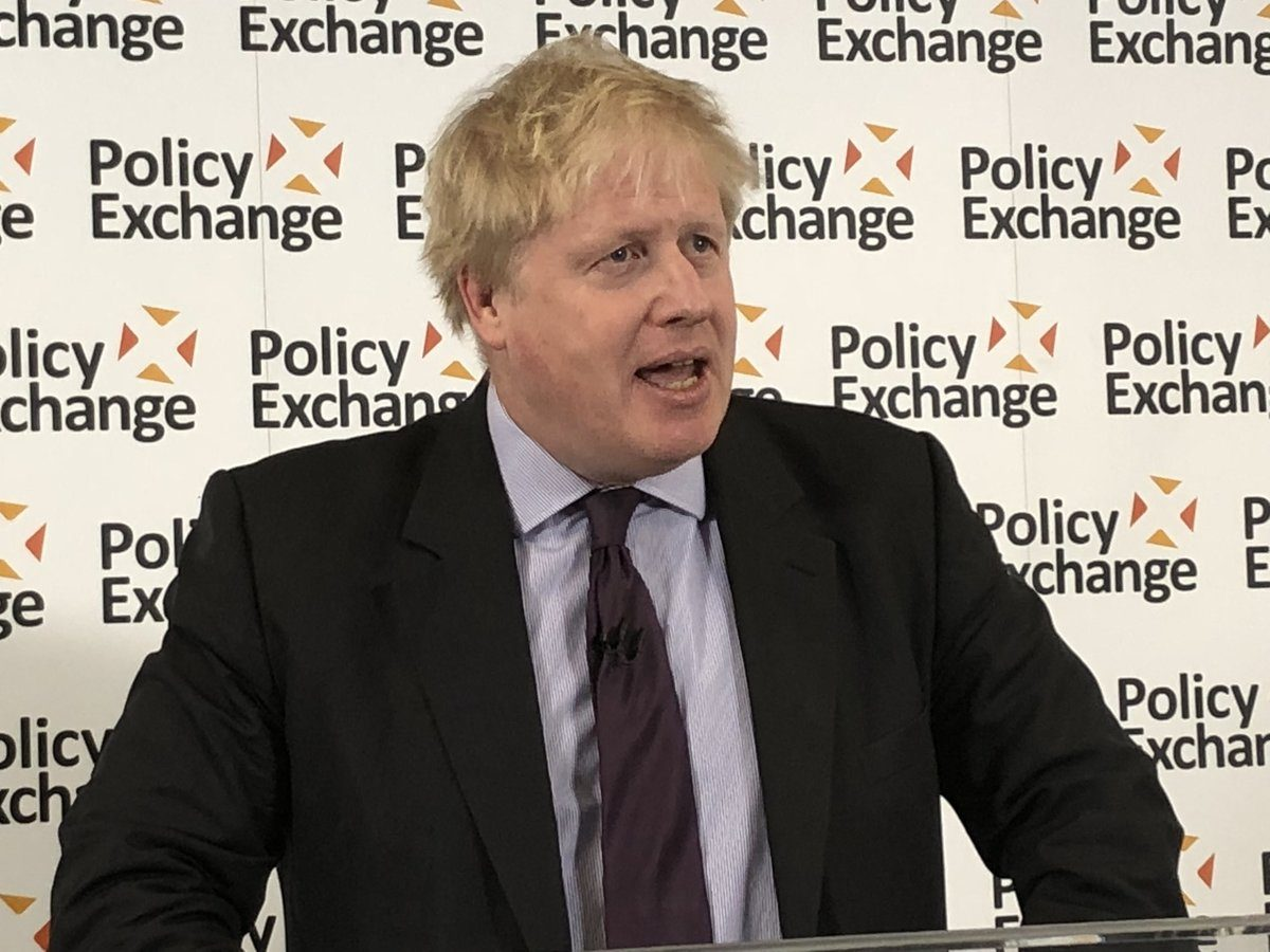 Full text and video: Boris Johnson's Brexit speech