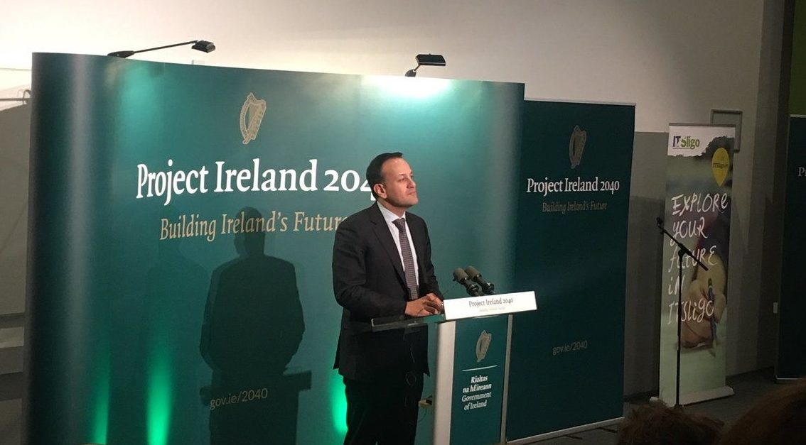 Leo Varadkar is acting against Ireland's interests on the border issue