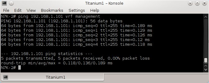 How to connect Cisco NX-OS emulator – Titanium 5 1 2 – installed on