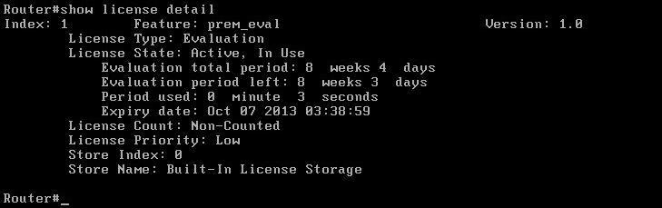 Managing Cisco CSR 1000v installed on VMware player | Brezular's Blog