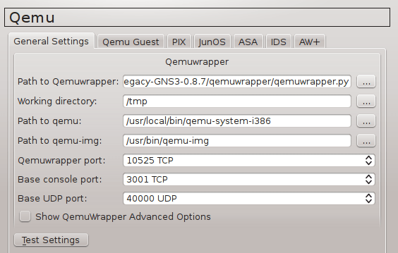 How to run Juniper Firefly Perimeter vSRX on GNS3