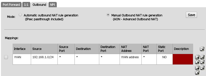 PfSense VirtualBox Appliance as Personal Firewall on Linux