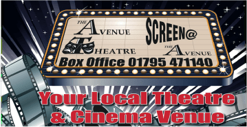 events coming soon at the Avenue Theatre, Sittingbourne