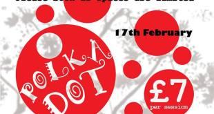Polka Dot Arts School Holiday Wednesday Workshops