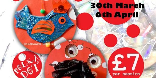 Polka Dot Arts - Teynham Recycling Art Workshop