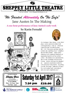 Jane Austen April 2017 at Sheppey Little Theatre
