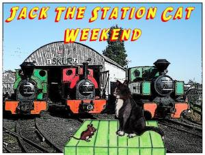 Jack the Station Cat and Edward Bear Weekend.