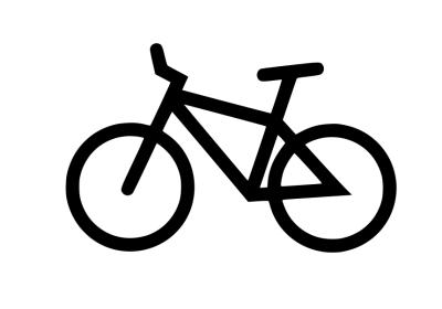 Cykelhängare installerade