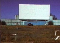 An abandoned Asher Drive-In, 5801 Asher Ave. in Little Rock, after it closed in the 1980s.