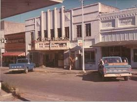 "Still in operation in 1975, the Hoo-Hoo appears to have been playing ""The Dixie Dance Kings"" that day, per the marquee."