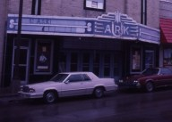 The UARK Theater in 1985. Movies stopped showing at UARK in 1976. By the 1980s, the venue primarily was used to showcase local bands.