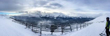 Lake Louise Mountain Top Pano