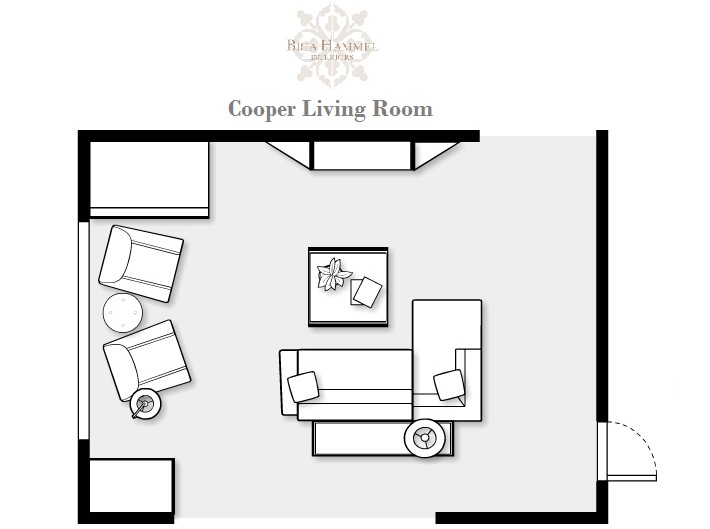 Family Room Floor Plans casual modern living room makeover bria hammel interiors