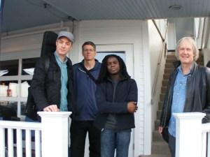 Project Percolator (L-R): Avi Bortnick, Steve Lucas, Rodney Holmes, Jim Weider