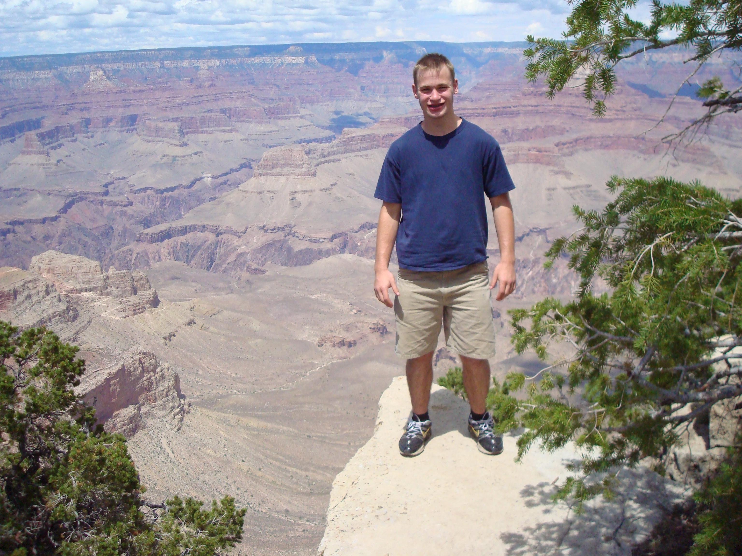 John, living on the edge