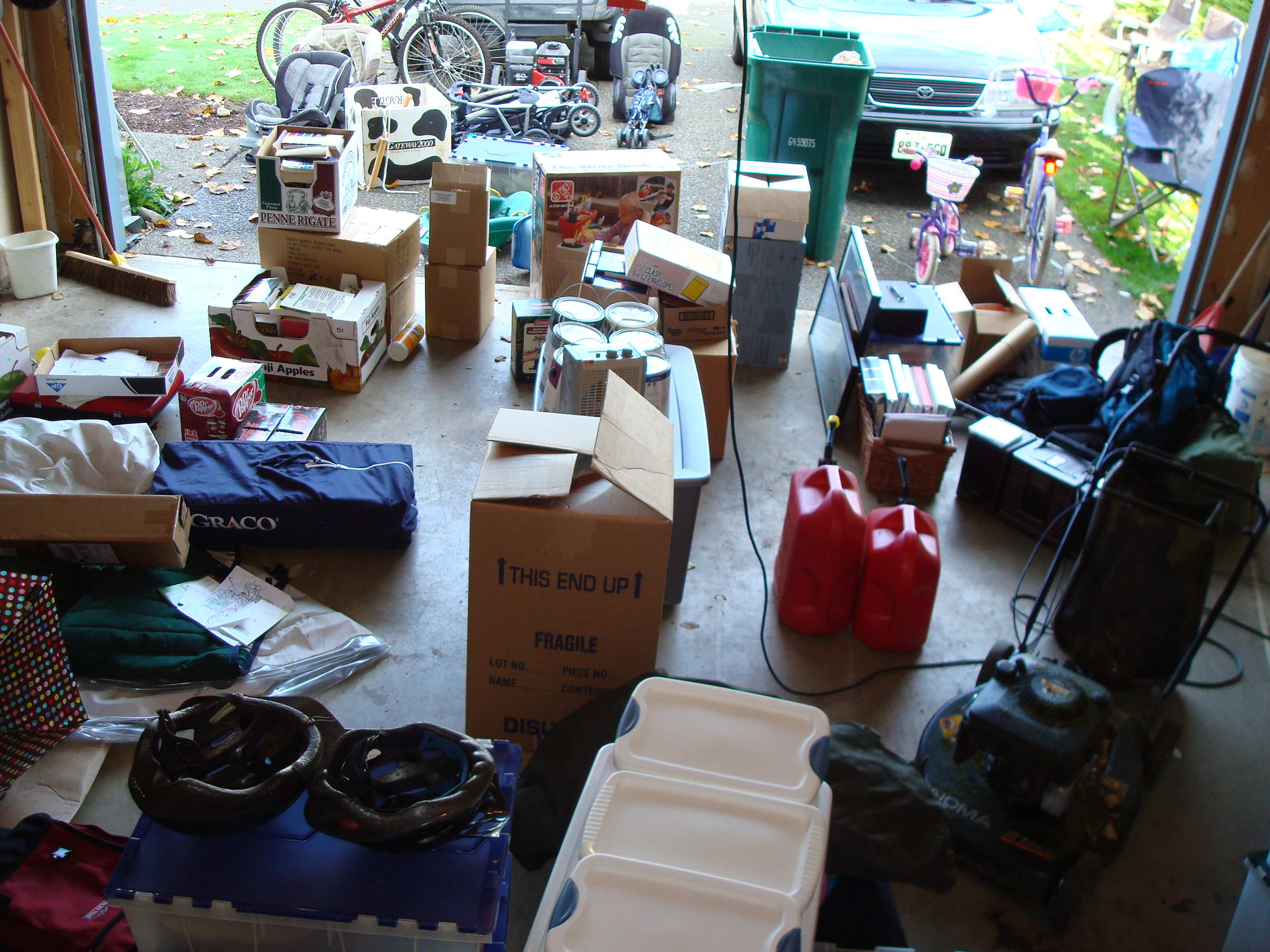 during the reorganization