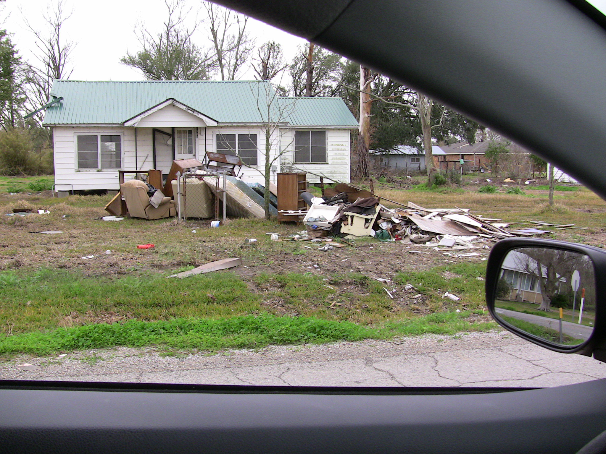 months after the hurricanes