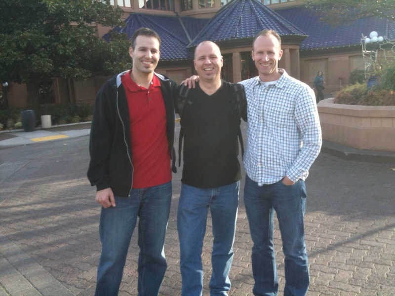 Aaron, Brian and Kirk at the OSF in Portland