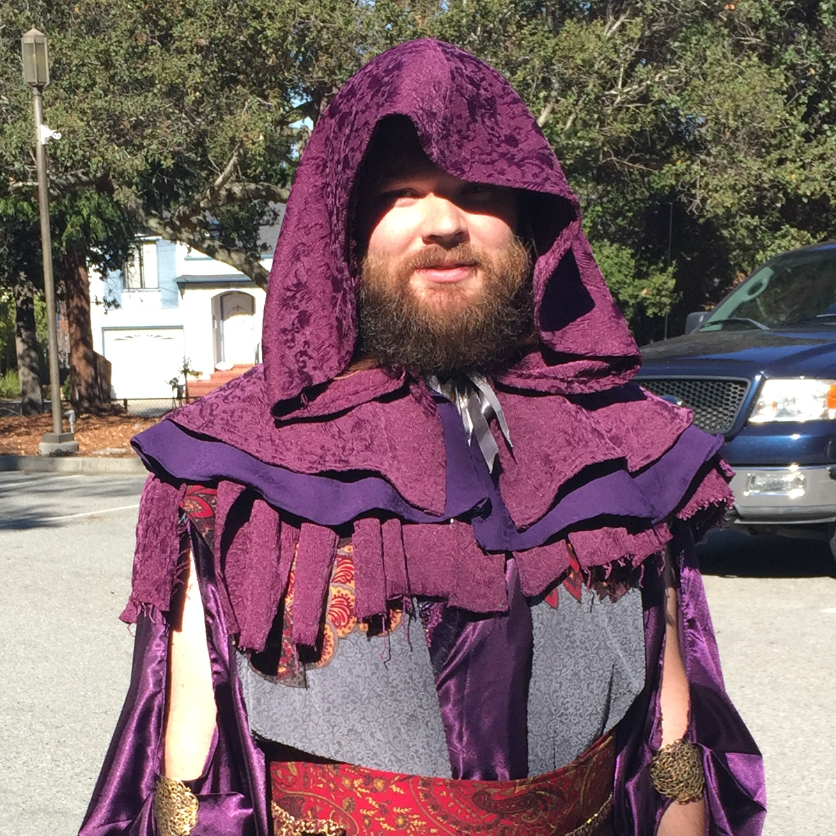 Hooded Mantle fit for a wizard