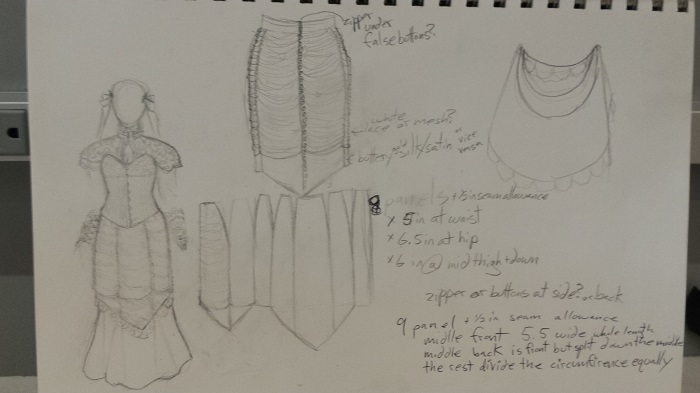 SkirtDesignSketches