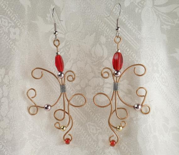 Earrings Wire Beaded - Image: © Briana Blair