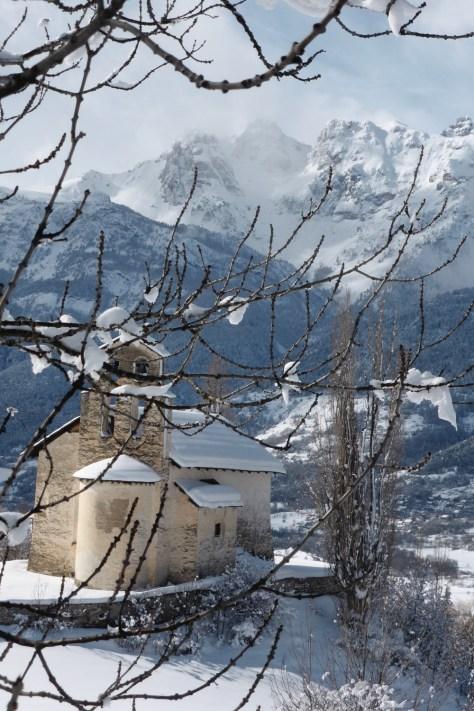 briancon-location, neige à villard st pancrace
