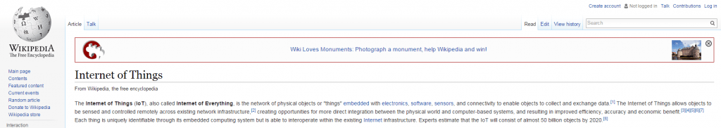 internet of everything wikipedia