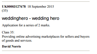 David Norris - Wedding Hero