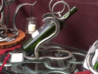 Snaffle Bit Wine Holder