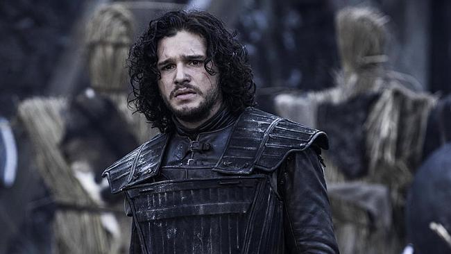 Jon Snow looks worried