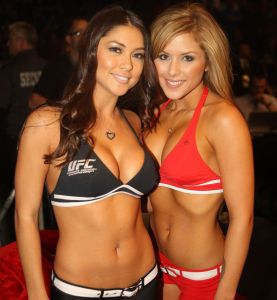 No UFC Notes installment would be complete without Arianny and Brittney.