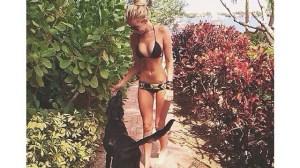 Paulina-Gretzky-Dog