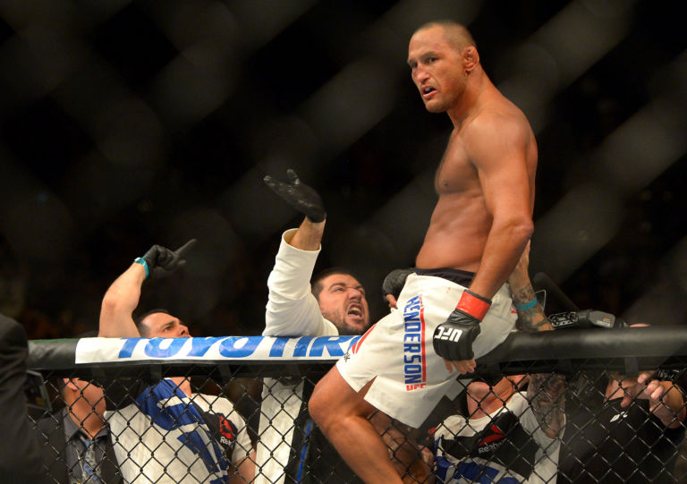 Dan Henderson beat Michael Bisping by second-round KO as a -220 favorite at UFC 100.