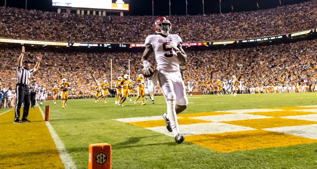 Alabama won a 34-20 decision at Tennessee two years ago, but Josh Dobbs rallied the Vols for a backdoor cover and has started 24 straight games since then. UT hasn't lost by more than eight points during that 24-game stretch.
