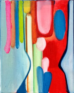 abstract painting by Brian Everett Miller