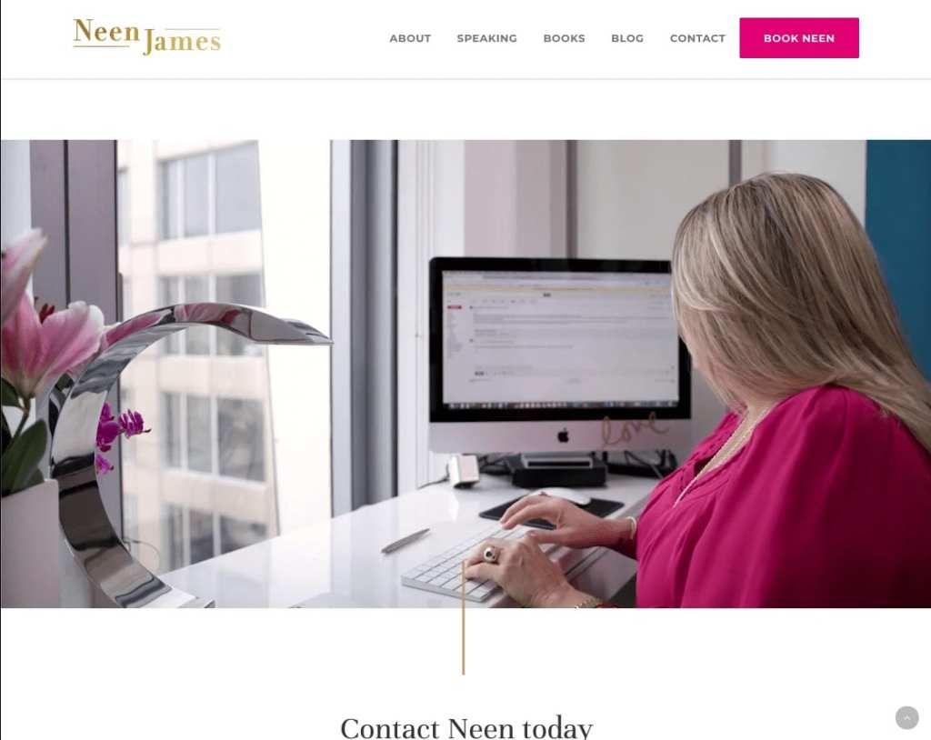 Professional Keynote Speaker Neen James Website