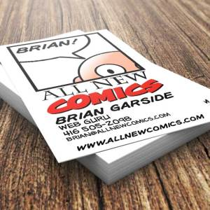 All New Comics Business Cards