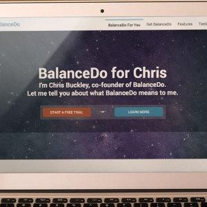BalanceDo Landing Page