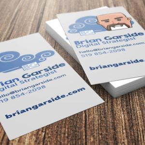 BrianGarside.com Business Cards