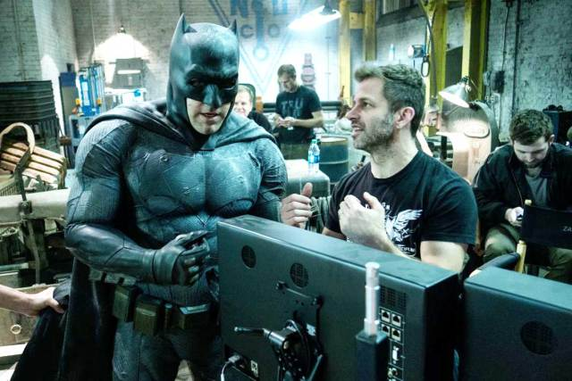 Batfleck and Zack Snyder