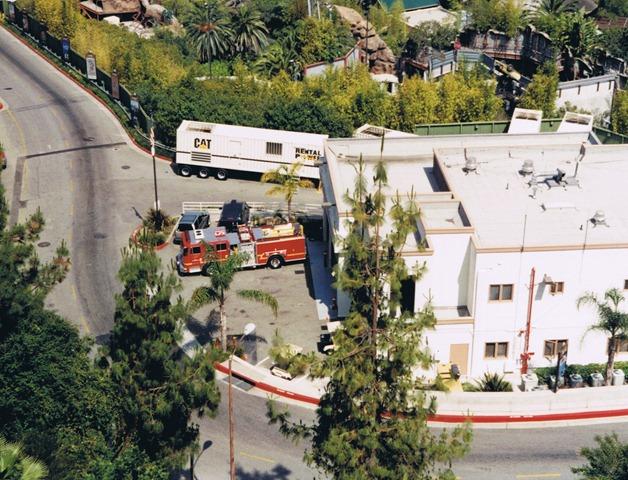 Universal Studios firehouse set