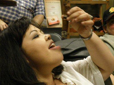 Cigar To Tongue