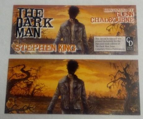 The Dark Man by Stephen King Bookmark